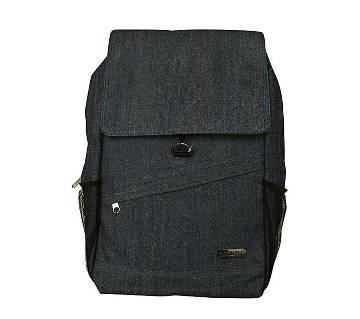 Fortuna Bangladesh Navy Blue Denim Backpack for Men