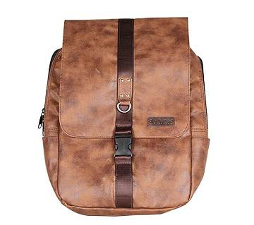 Fortuna Bangladesh Brown Leather Backpack for Men