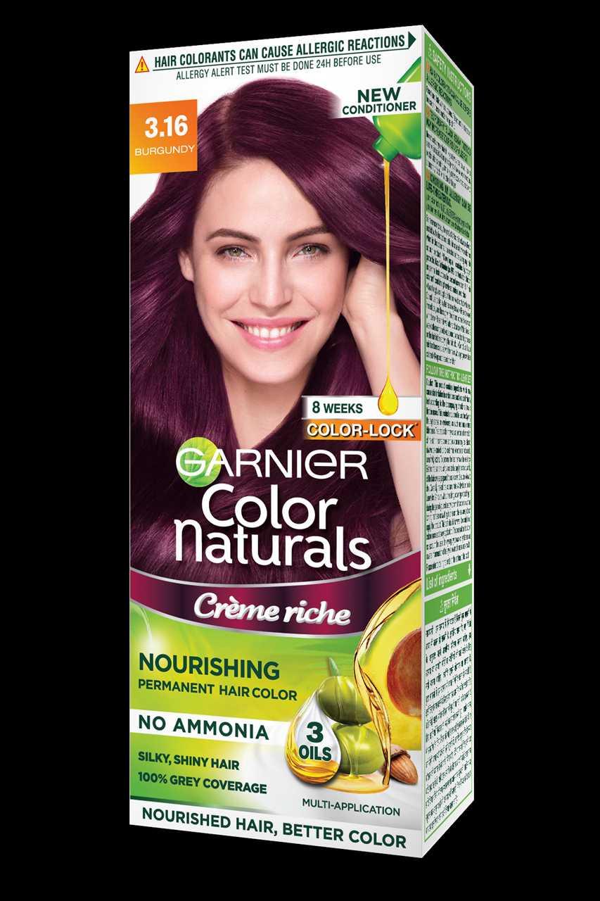 Garnier Colour Naturals Cream 3.16 Burgundy Classic 100 ml
