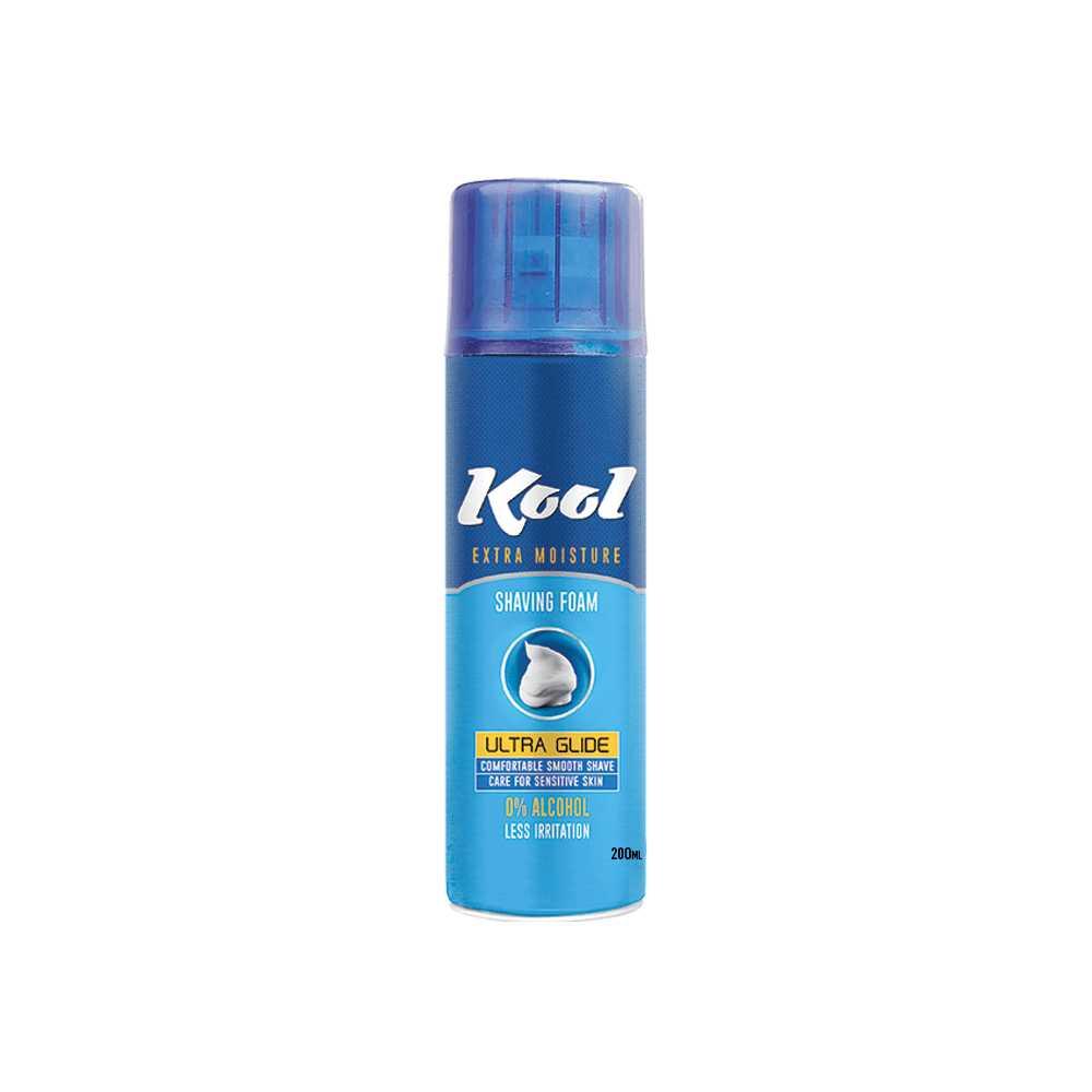 Kool Ultra Glide Shaving Foam 200 ml