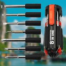 Snap & Grip with 6 in 1 heavy Screwdriver Set