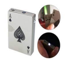 Metal Windproof Cigarette Gas Lighter