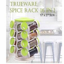 16 in 1 Spice Rack & Cutlery Holder