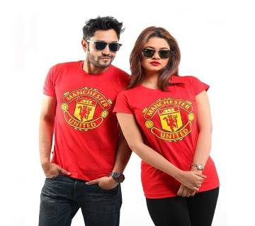 MANCHESTER UNITED COUPLE T-SHIRT