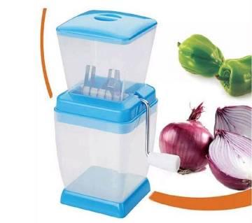 Multifunctional onion chopper