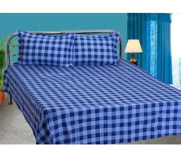HOME TEX Cotton King Size Bed sheet Set