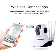 WiFi IP Home Security Camera 1080P With Night Vision 3 Antennas