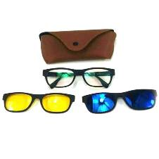 3-in-1 Magic Vision Sunglass With Night Vision glass