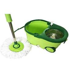 Easy Magic Spin Mop Rotate Dryer Bucket
