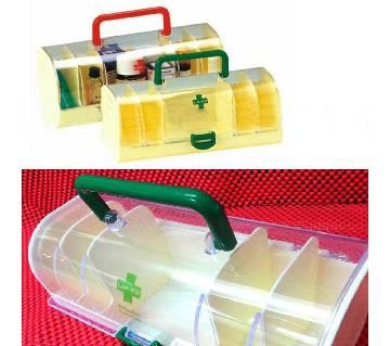 Portable medicine storage box