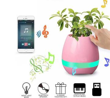 Creative Bluetooth Smart Music flowerpot