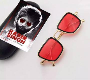Kabir Singh SunGlass with Box - Red