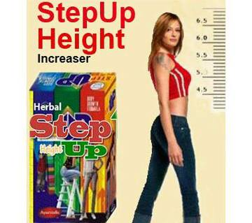 Step Up Height increaser - Pack of 3 Bottles (India)