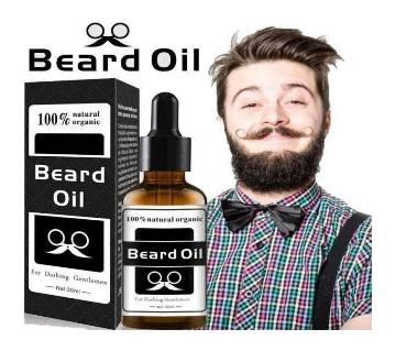 100% Natural Organic Beard Growth Oil For Men 30ml - UK