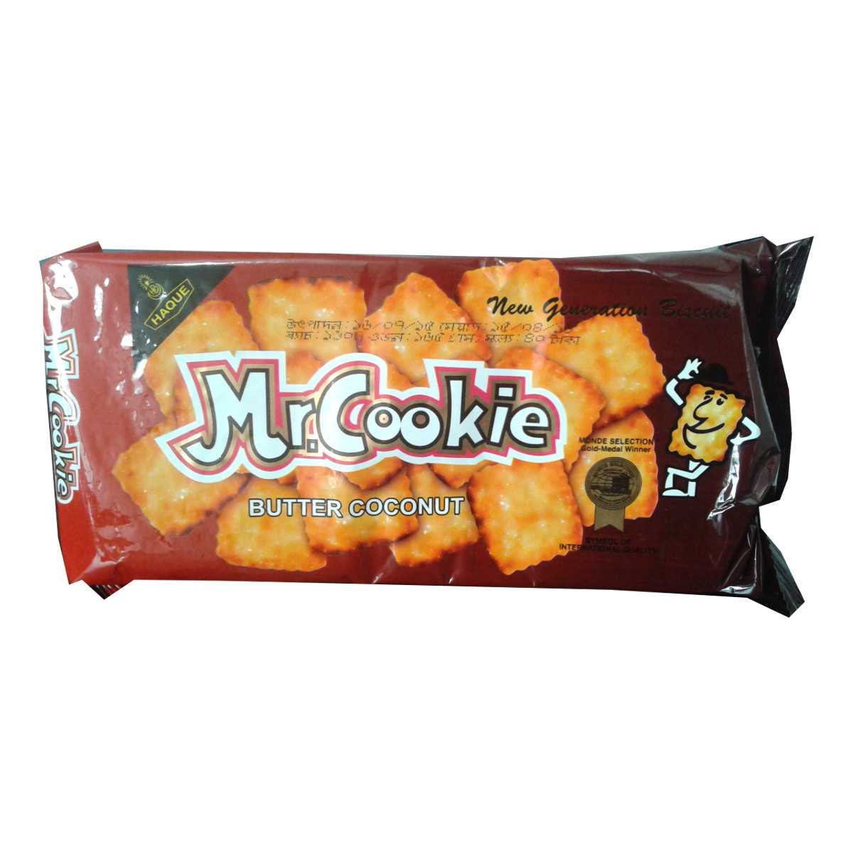 Mr.Cookie Butter Coconut Biscuits 250 gm