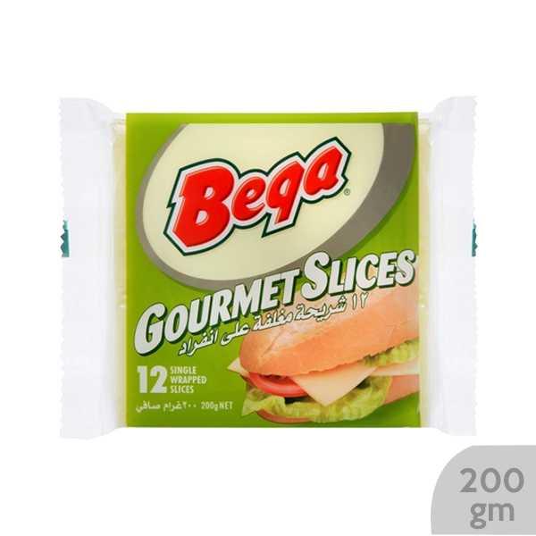 Bega Gourmet Slices Cheese 200 gm