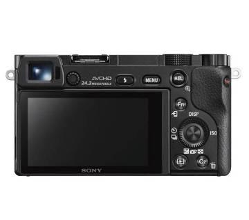 Sony Alpha a6000 মিররলেস ডিজিটাল ক্যামেরা- 24.3 MP