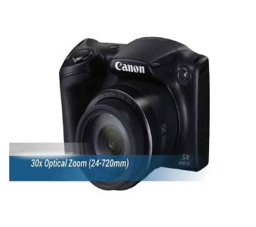 Canon PowerShot SX400 IS 30x Zoom 16MP CCD Digital Camera