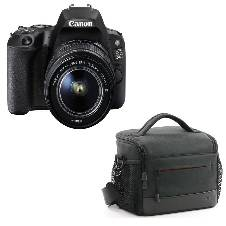 Canon EOS 200D 24.2 MP 18-55mm Lens ওয়াই ফাই ডিএসএল আর ক্যামেরা