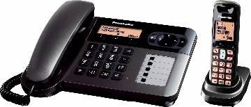 Panasonic KX-TGF110GT 2-in-1 Telephone Set Combo