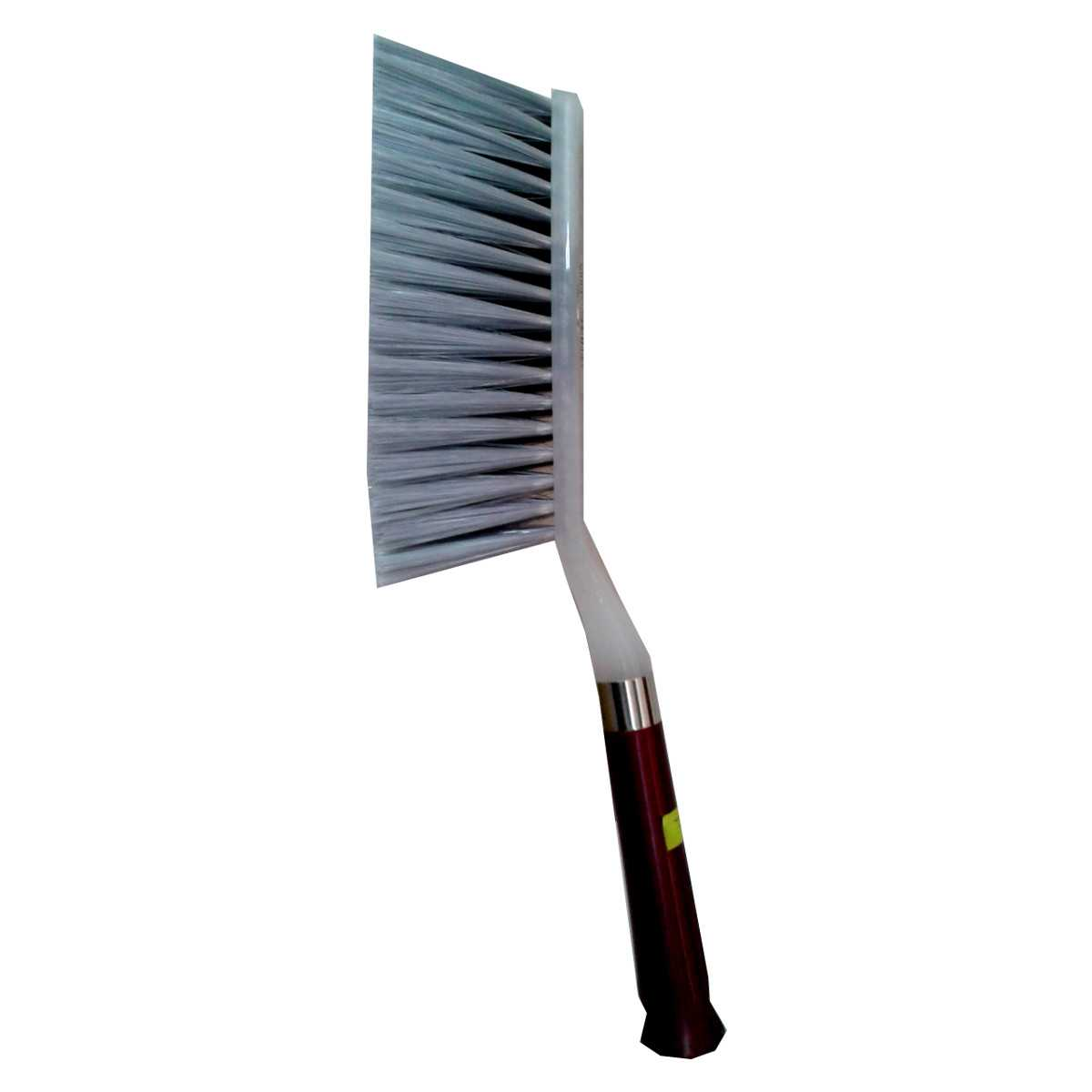 "Soft Bed Brush Merun & Ash (14""x1.5"") China 1 pcs"