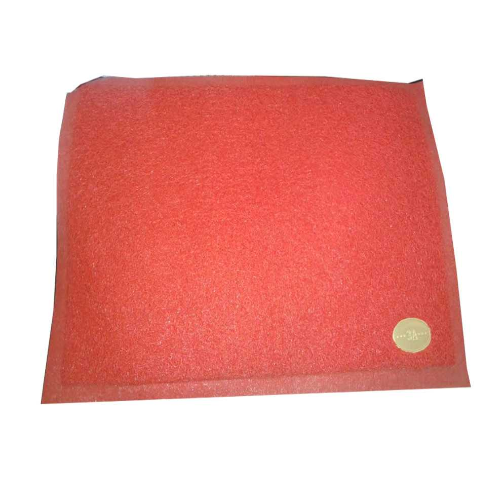 "Plastic Floor Trapper Mat Red 23""x15"" (China) 1 pcs"