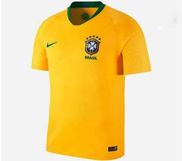 Brasil Short-sleeve Home Jersey 2018 (copy)