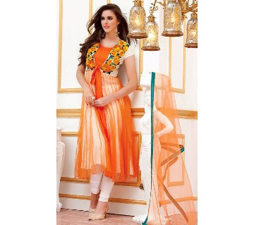Indian Semistitched Georgette Three Piece (Copy)