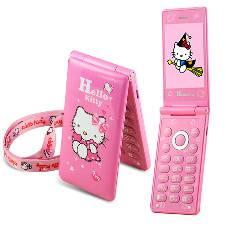 Hello Kitty D10 ডুয়েল সিম টাচ ডিসপ্লে ফোল্ডিং ফোন