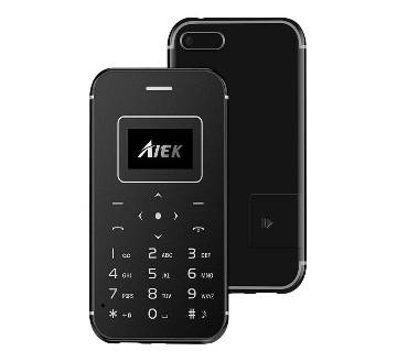 X8 Card Phone FM Color Monitor Torch Light