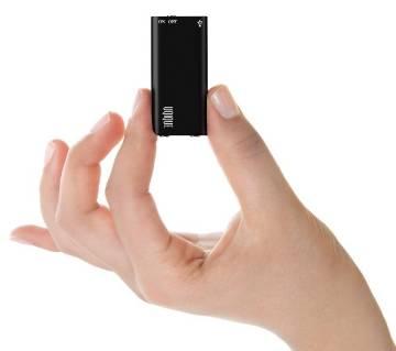 মিনি ভয়েস রেকোর্ডার - 8GB - ব্ল্যাক