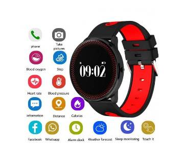 Cf007 Smart Watch Fitness Tracker Blood Pressure Heart Rate Waterproof