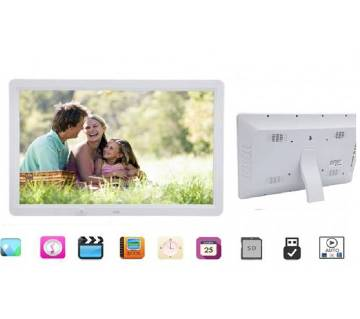 """Digital Photo Frame 15"""" inch HD 1080P LED Album Picture Clock/MP3/MP4/Movie With Remote"""