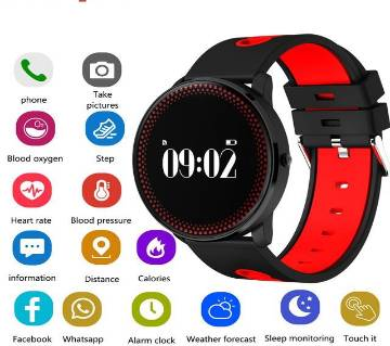 Fuster Cf007 Smart watch in BD fitness Tracker Blood pressure heart Rate waterproof Original