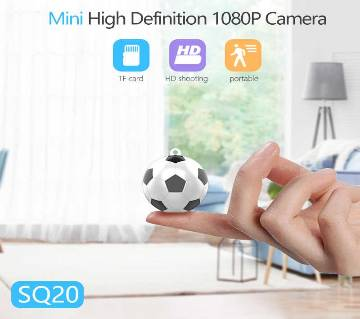 SQ20 Mini Football Camera 720P shooting Mini Camera support TF card