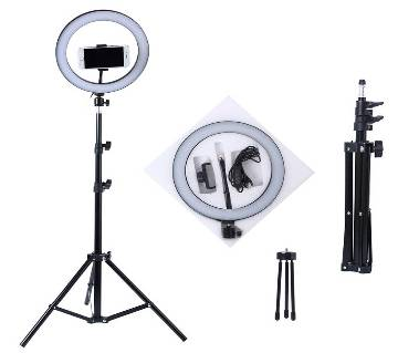 Selfie Ring Light With Tripod 10 inch SET