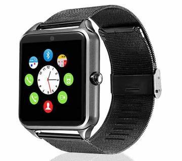 Z60 Smart Watch Single Sim Camera Stainless Steel Bluetooth