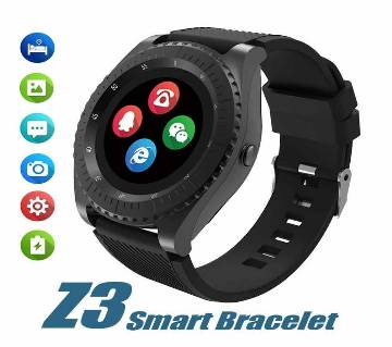 Z3 Smart Watch Sim Supported And Bluetooth Dial Camera