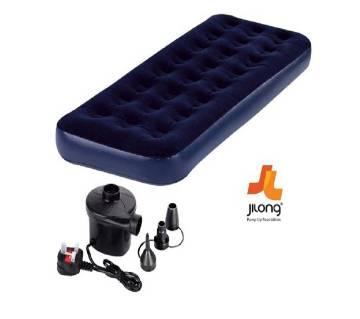 Jilong Single Air Bed With Free Air Pumper