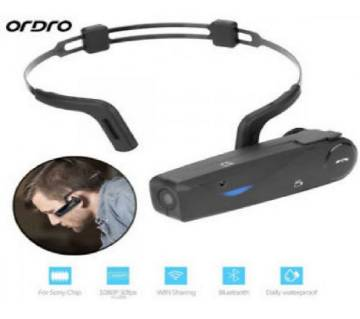 Ordro EP-5 Wearable 1080P HD WIFI Bluetooth Action Camera Support TF Card