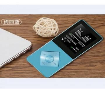 X03 Mp4 প্লেয়ার FM 8GB বিল্ট ইন মেমোরি মেটাল বডি