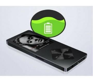 X03 Mp4 প্লেয়ার FM 16GB বিল্ট ইন মেমোরি মেটাল বডি
