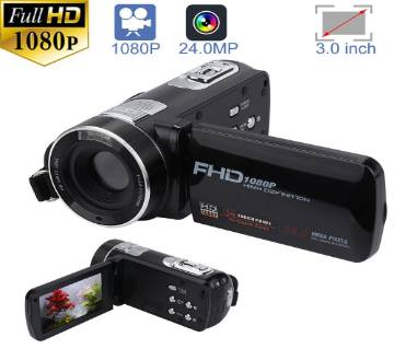 F3 Video Camera 3.0 Inch Touch Display Camcorder 24.0MP 16X Digital Zoom