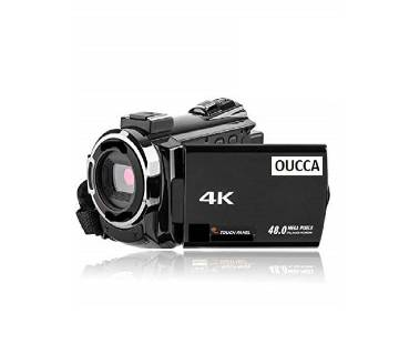 OUCCA 4K 48MP WiFi Digital Video Camera Night Vision