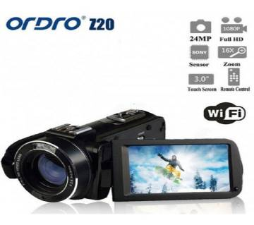 ORDRO HDV-Z20 1080P WIFI Digital Video Handy Camera Camcorder