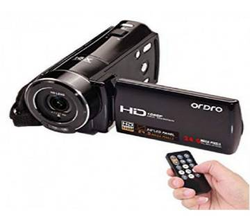 ORDRO V7 Plus 24MP HD 1080P Video Camera Handy Camera