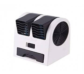 Mini Portable Desktop Fan Perfume Turbine Air Conditioning Mini Fan Support Direct Power And Battery