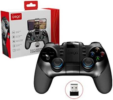 Ipega PG-9156 Wireless Bluetooth Joystick Game Controller with 2.4GHz USB Receiver for iOS Android Smartphone/PC/TV/Tablet