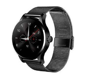 K88 Smartwatch Water-Proof Metal Body Call SMS Reminder Sleep Monitor IOS Android