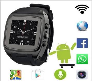X01 Android 3G Wifi স্মার্ট মোবাইল ওয়াচ ওয়াটারপ্রুফ